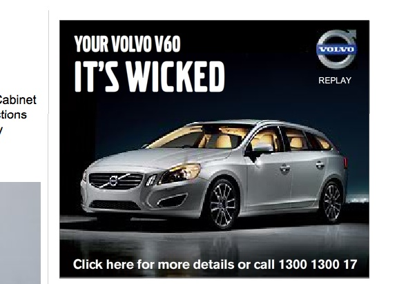 Volvo ad campaign tried to convince consumers it was wicked!