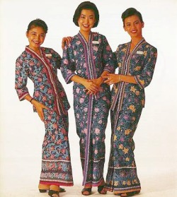 The Malaysia Airlines Cabin Crew Uniform Has Hardly Changed Since It Was Introduced In 1982