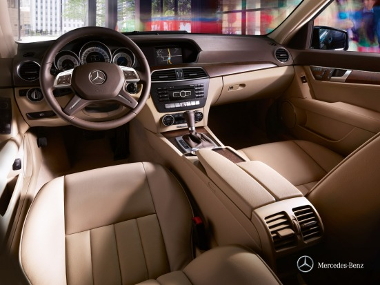 Mercedes Benz C class interior