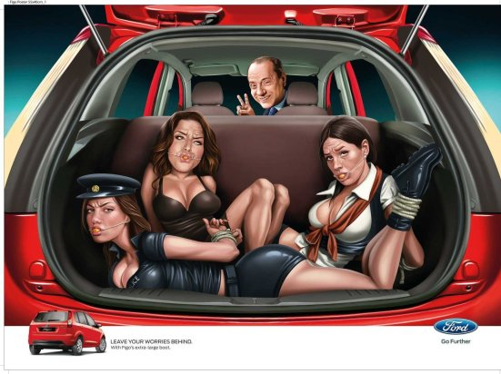 Tasteless Ford ad forces agency to sack executive