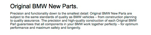At BMW it would seem longevity is up to 2.5 years