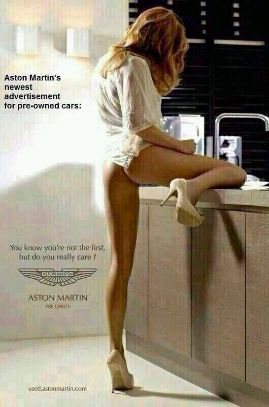 Not a real Aston Martin ad