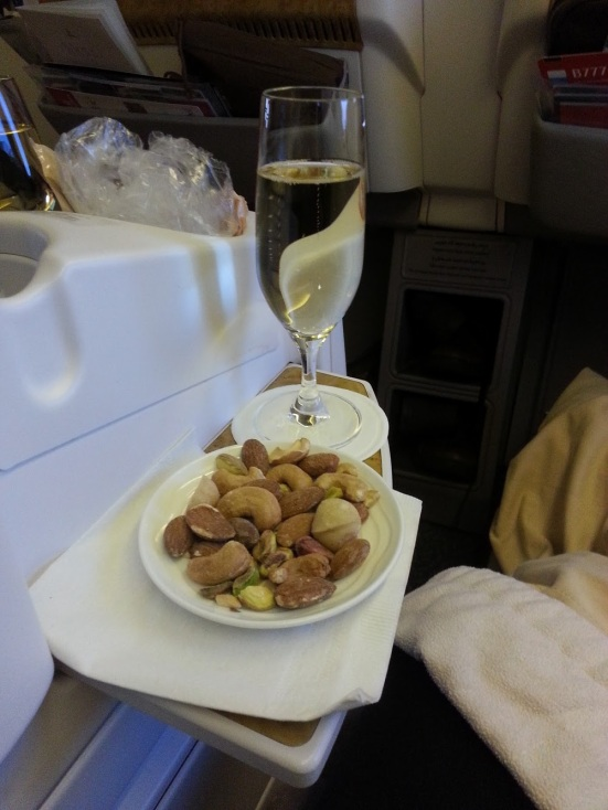 Emirates A380 business class. It's all about the experience
