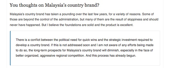 Many nation brands are victims of the politicians need for quick wins