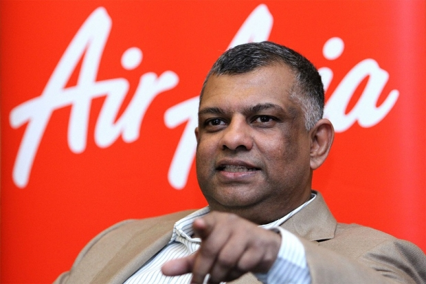 Tan Sri Tony Fernandes. Charismatic but controversial and ill informed