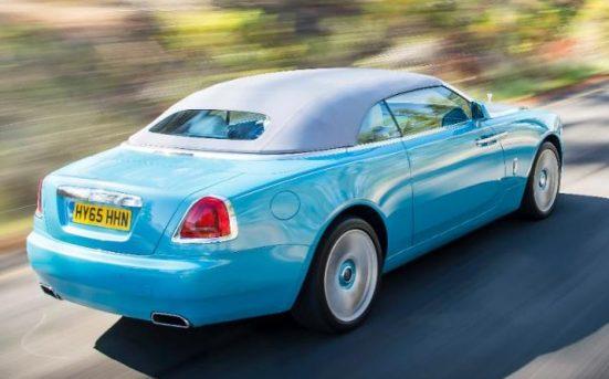The Rolls Royce dawn - phew!